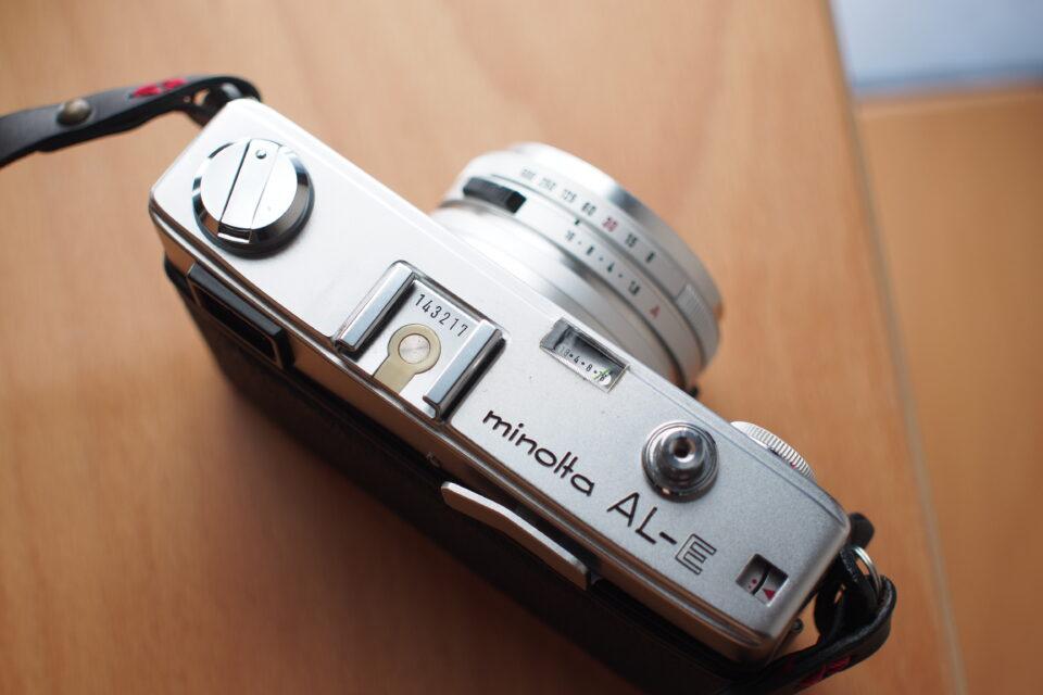 フィルムカメラ minolta AL-E